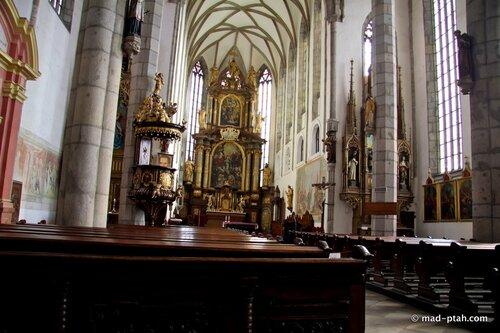 чески-крумлов, собор святого вита