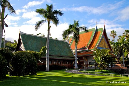 лоро парк, пагода, тенерифе