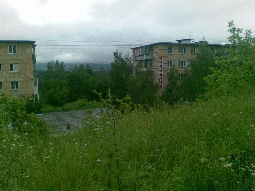 Город Златоуст утонул в зелени