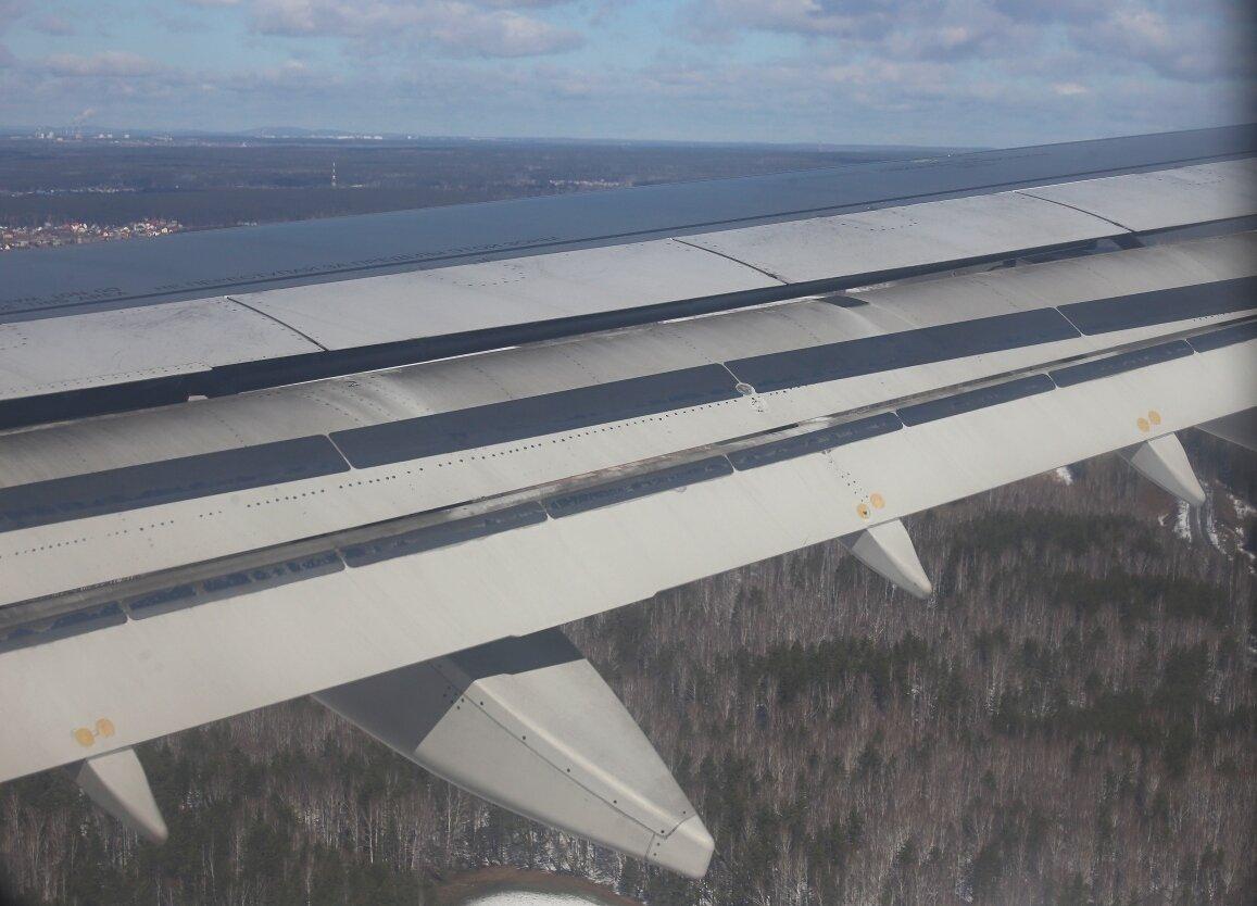 Механизация крыла А319