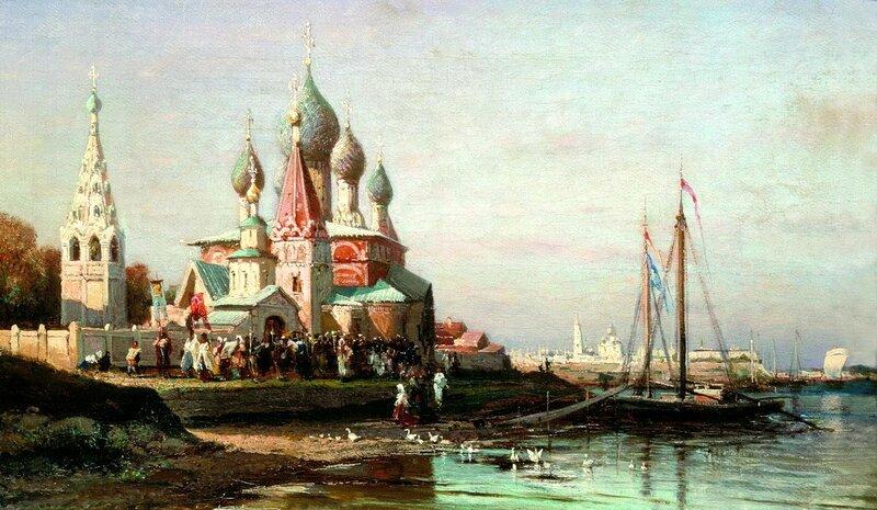 Крестный ход в Ярославле. Алексей Боголюбов.