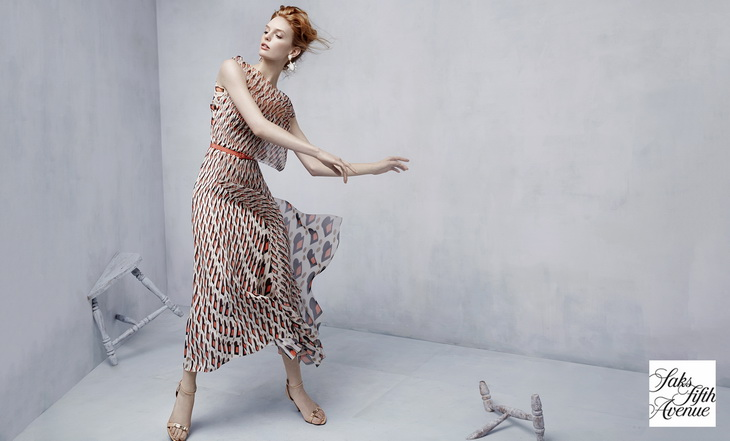 Клара Сеттдже в новой рекламной кампании Saks Fifth Avenue (10 фото)