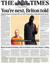 Журнал The Times - 3 september 2014
