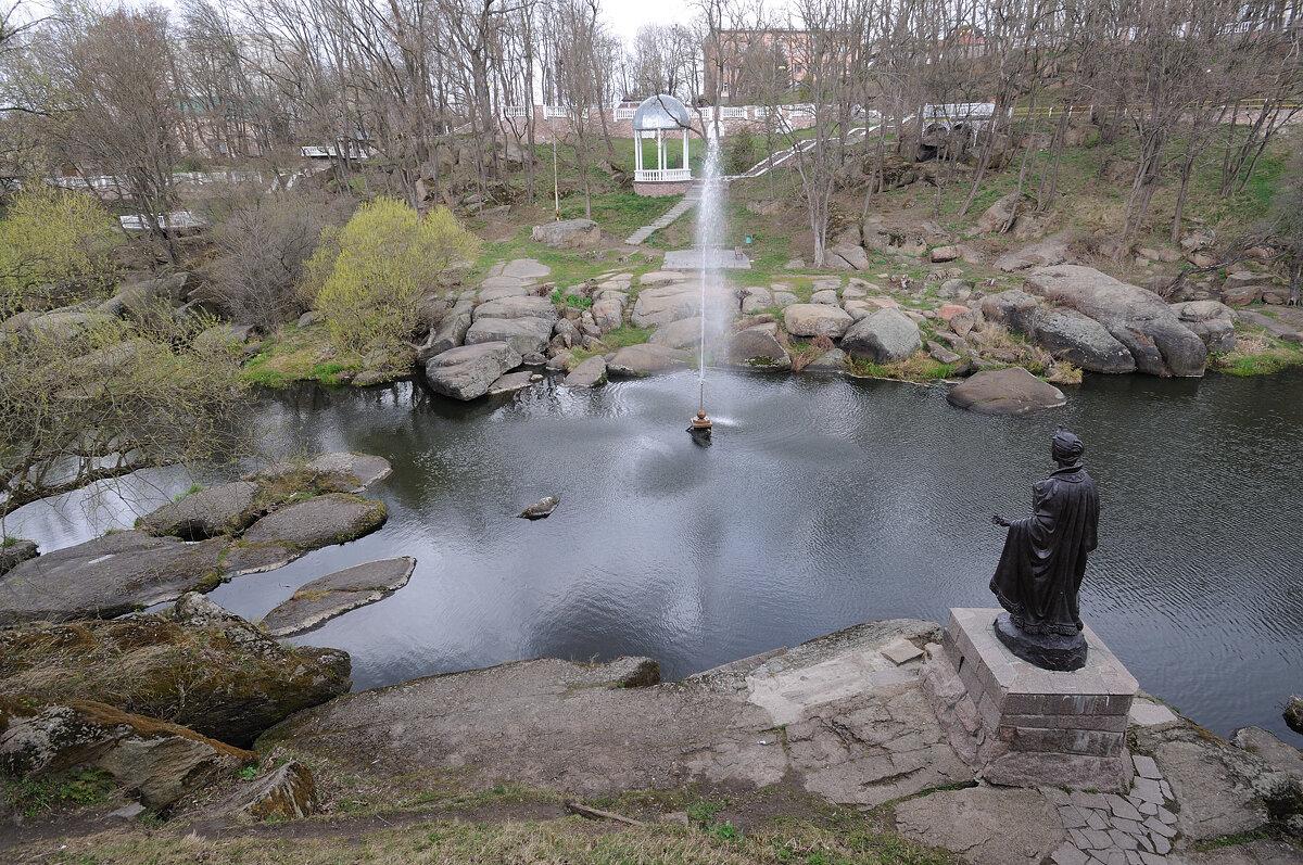 парк Островского, Коростень