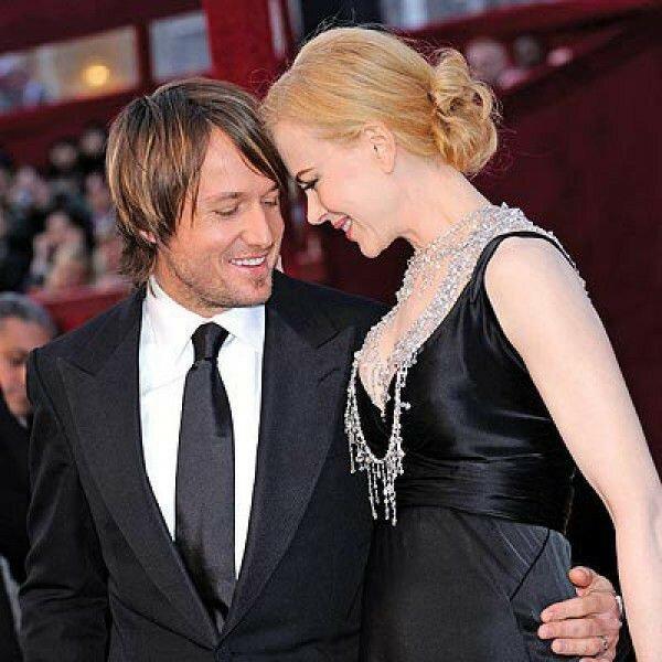 Австралийские влюбленные актриса Николь Кидман и музыкант Кит Урбан поженились, когда им было по 39 лет.