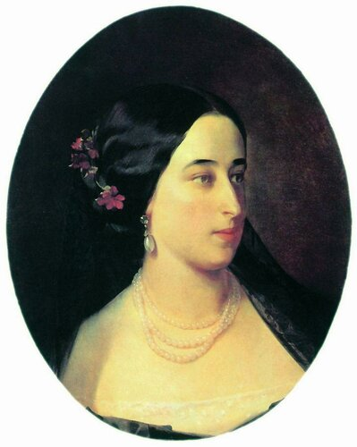 Портрет Марии Гартунг, урожденной Пушкиной