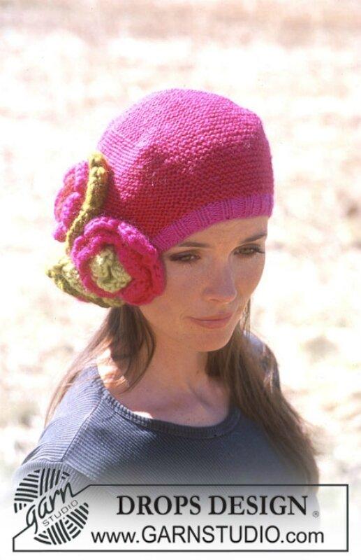 Описание: вязаные летние береты крючком для девочек. вязаные шапки со...