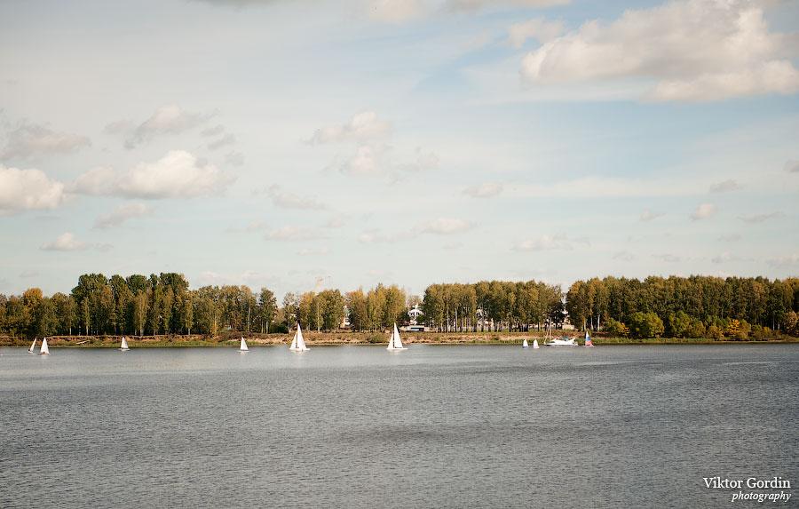 Осенний ярославль