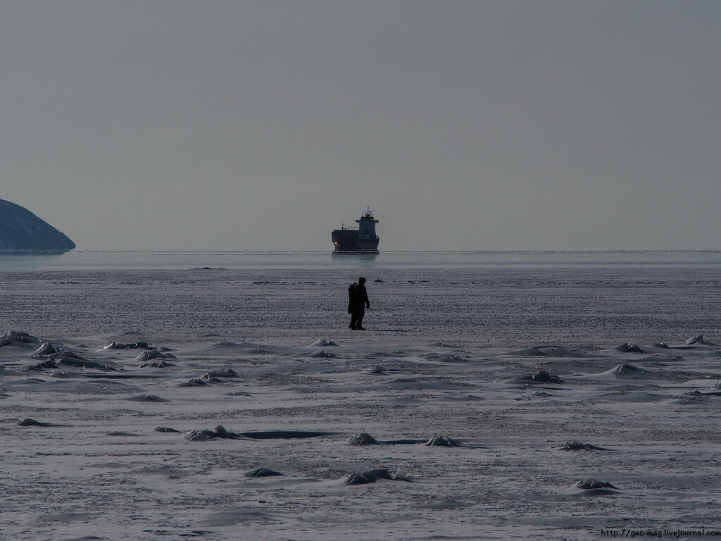 Прогулка по морю, #магадан