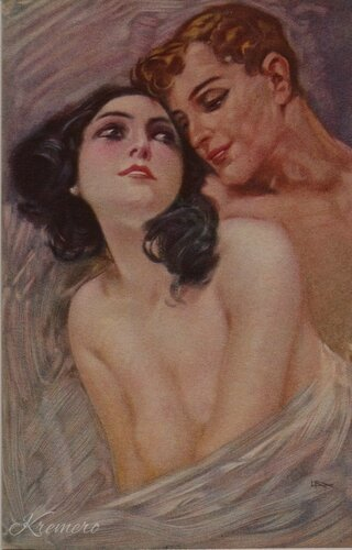 Lovers by Leopoldo Metlicovitz