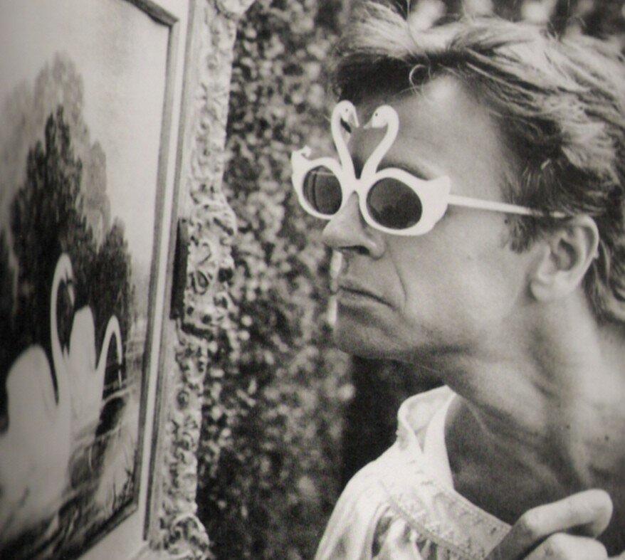Baryshnikov, the swan prince (Arthur Elgort, 1987)
