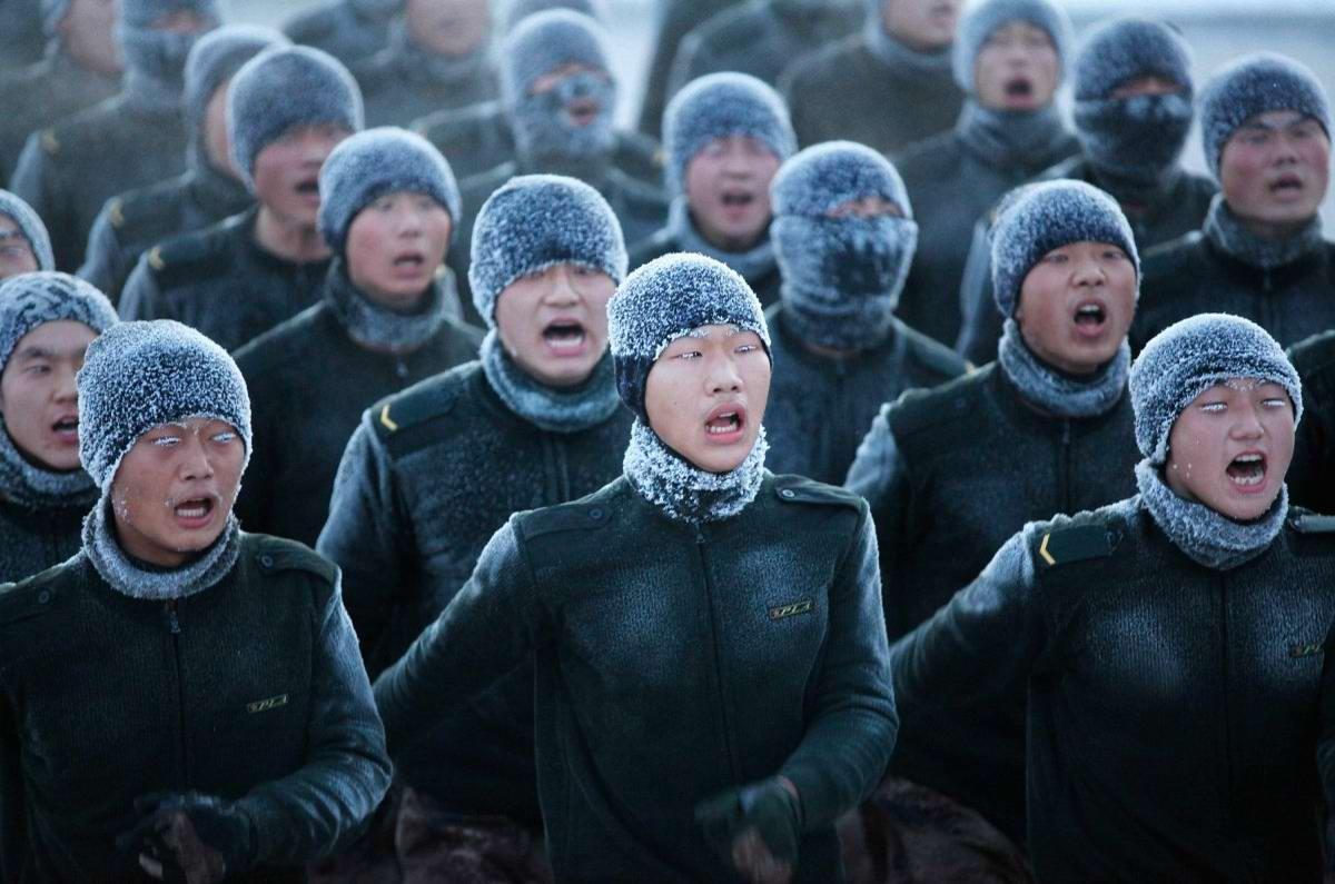 На учебном поле брани: Картинки из жизни бойцов различных спецназов (15)