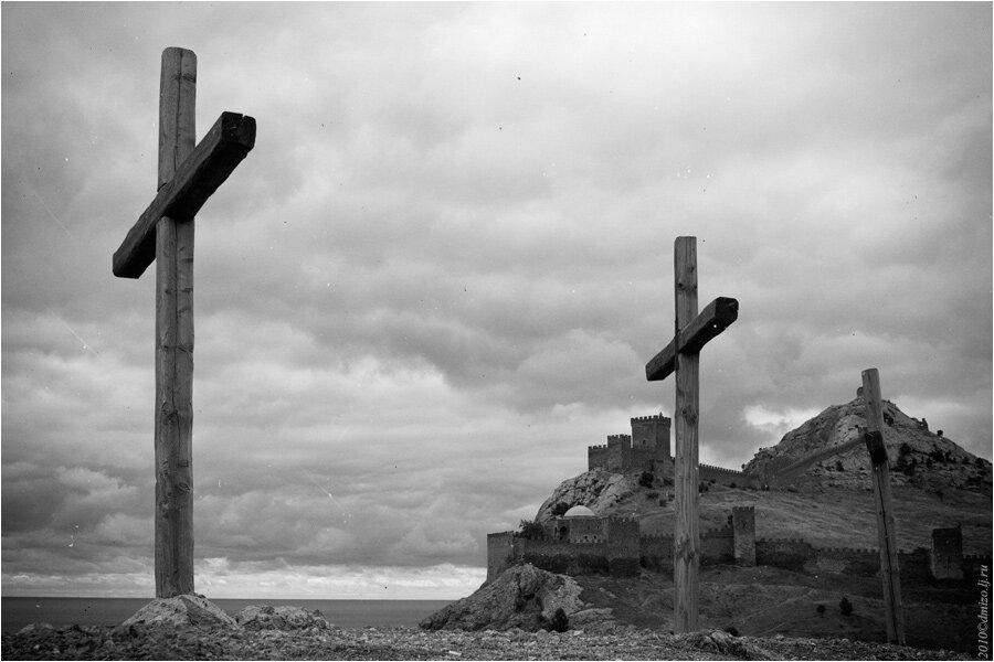 Место где распяли иисуса христа фото