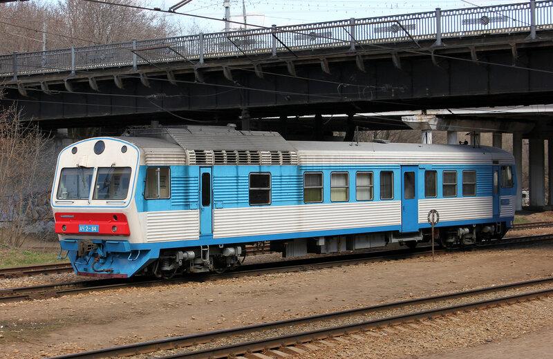 АЧ2-114 на станции Подмосковная
