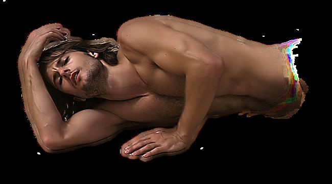 Лежащий Обнаженный Мужчина