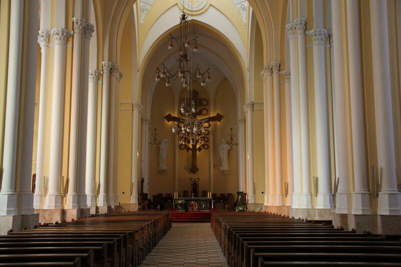 Римско, католический, Кафедральный, собор, Непорочного, Зачатия, Пресвятой, Девы, Марии