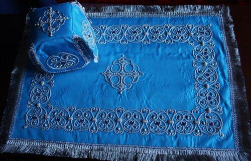 Покровцы и воздух ручная вышивка 21