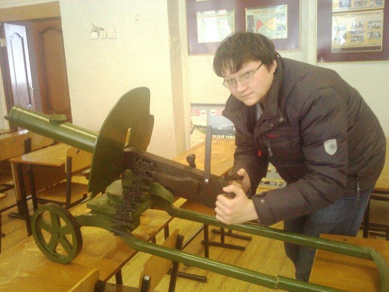 Макеты пулемета максим своими руками