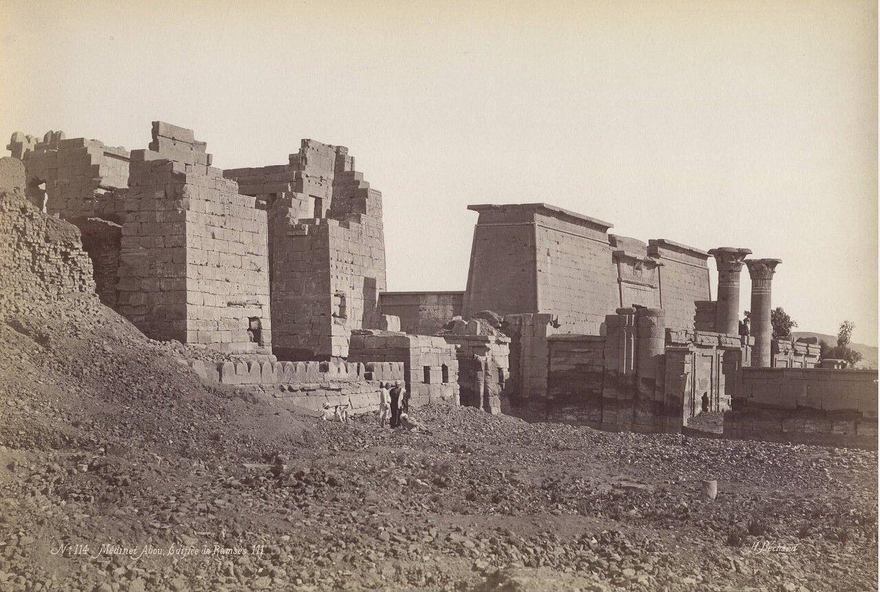 Мединет-Абу. Храм Рамзеса III