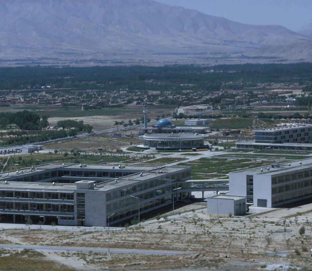 Кабул. Общежития кабульского университета