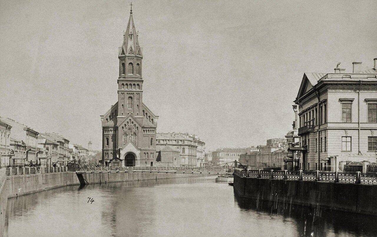 Реформатская церковь на набережной Мойки