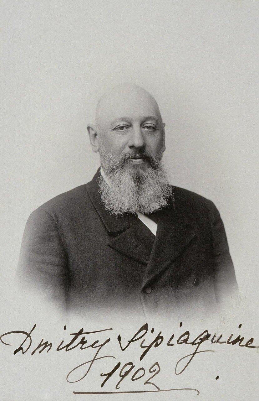 Портрет Дмитрия Сергеевича Сипягина. 1902