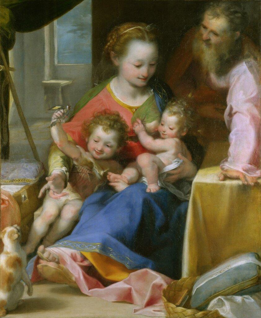 """The Madonna of the Cat (""""La Madonna del Gatto"""")"""