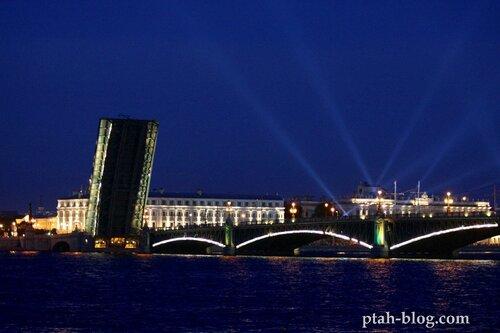 ночной петербург, алые паруса 2011