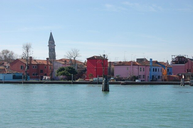Остров Бурано. Венеция, Италия