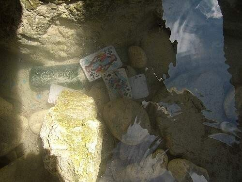 Карты пиво и вода