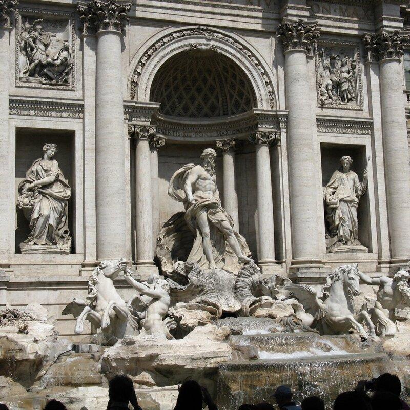 Рим. Фонтан Треви (Fontana di Trevi)