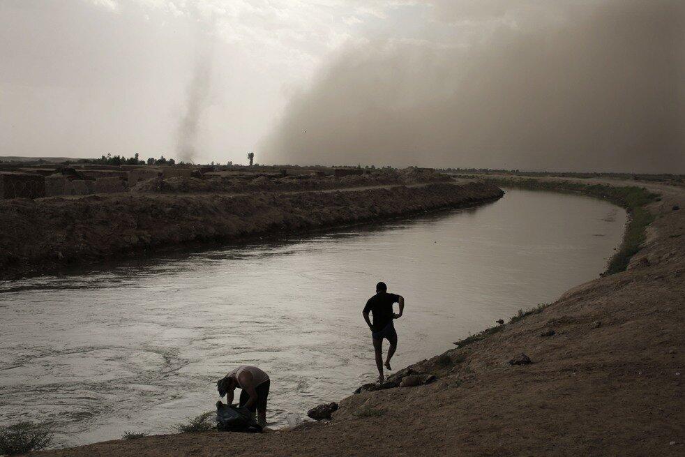 AFGHANISTAN-US-WEATHER-SANDSTORM