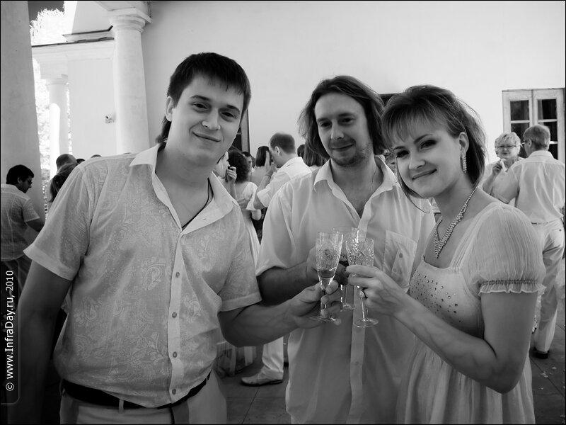 Свадьба сестры в Остафьево