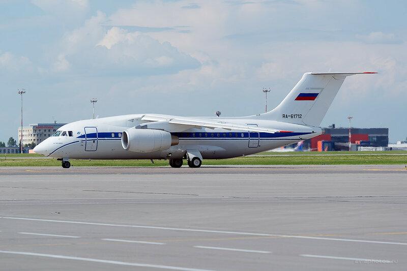 Антонов Ан-148-100Е (RA-61712) Пограничная служба D809179a