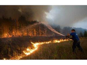 В российском Забайкалье бушуют сильнейшие пожары