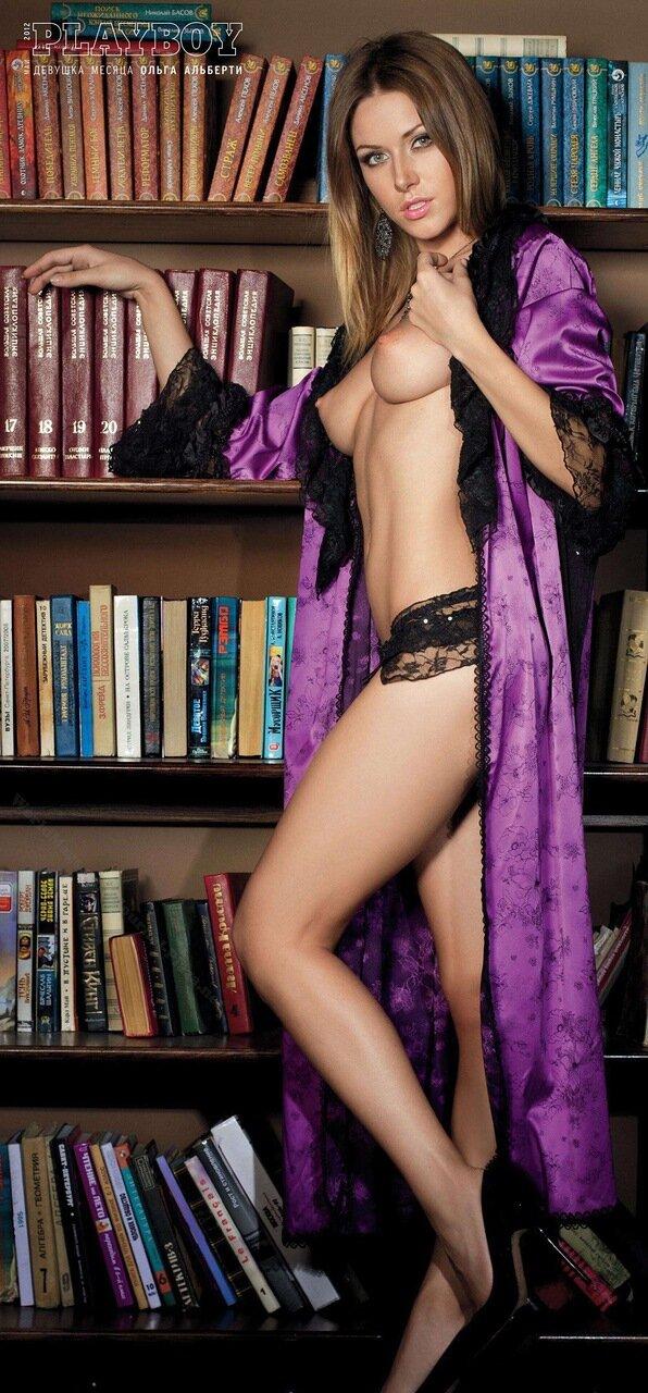Девушка месяца Ольга Альберти Playboy Россия, май 2012 - большой постер 22 мегапикселя