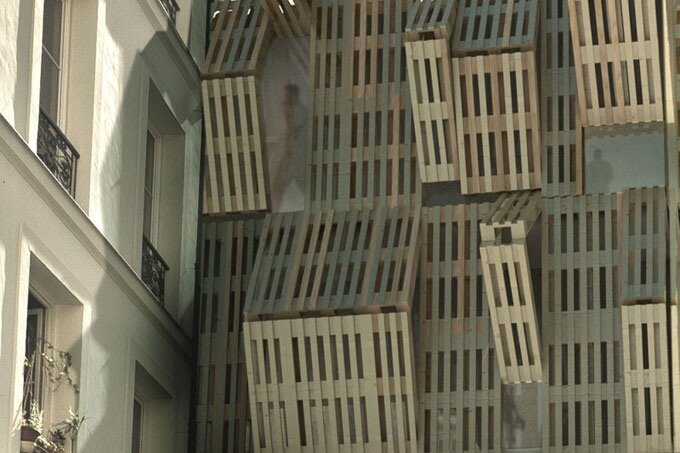 Проект студ-общаги Ame-Lot в Париже от Malca Architecture.