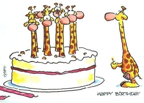 Шуточные поздравления с днем рождения.