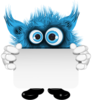 Blue Monster with a White Background [преобразованный].png