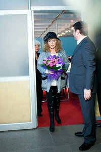 "Opening of 27th season of ""Volvo-Moscow Fashion Week"" - Alla Pugacheva (04.04.2012)"