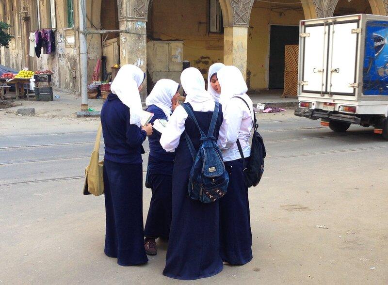 мусульманки школьницы