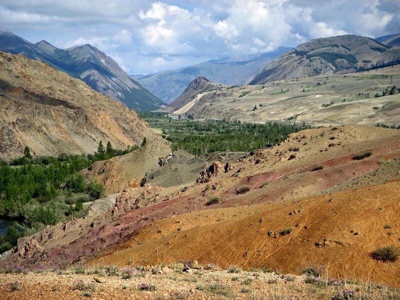 Краски гор Алтая