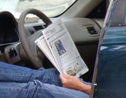 Что читают американцы во время отдыха :-)