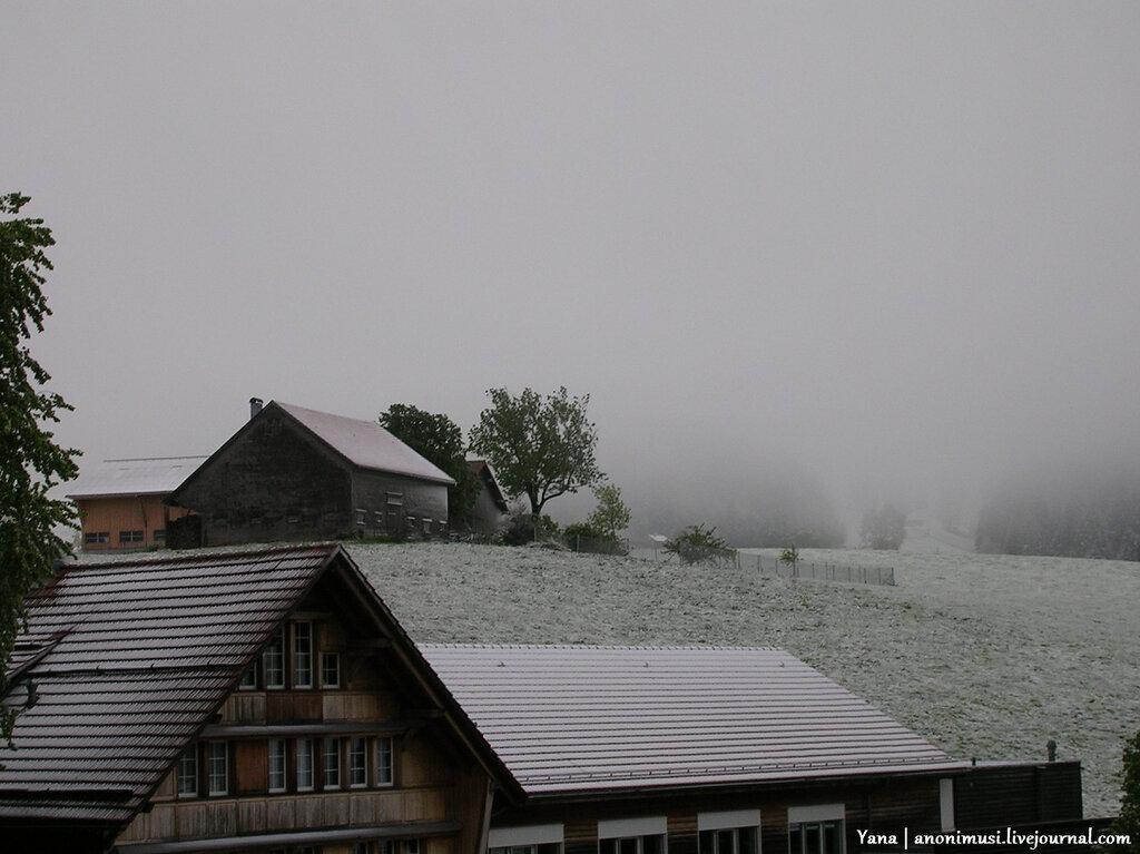 Швейцария летом
