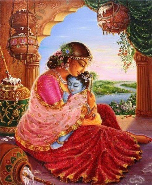 Открытка с днем рождения кришнаиту, вашему малышу