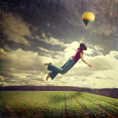 фото летающих людей