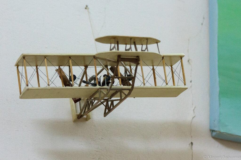 Макет самолета братьев Райт