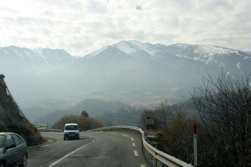 Утро в Восточных Пиренеях