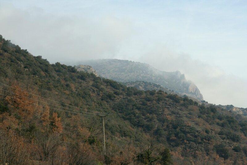 Вершина горы в Восточных Пиренеях