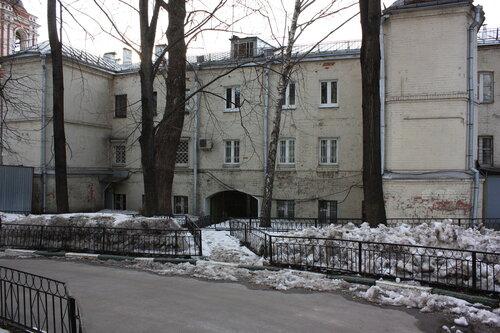 Мастерская художника Бориса Смертина находилась в арке дома в Подкопаевском переулке.